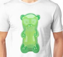 Gummy bear green grape flavor Unisex T-Shirt