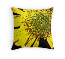 Reality Only Comes When The Sun Appears Throw Pillow