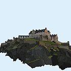 Edinburgh Castle by Haidee Bain