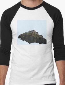 Edinburgh Castle Men's Baseball ¾ T-Shirt