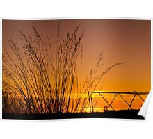 Sunset in Simplicity Poster
