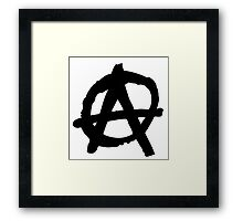 Anarchy Framed Print
