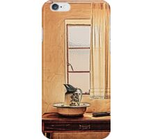 A Sight of an Antique Vintage Bathroom... iPhone Case/Skin