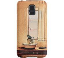 A Sight of an Antique Vintage Bathroom... Samsung Galaxy Case/Skin
