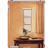 A Sight of an Antique Vintage Bathroom... iPad Case/Skin