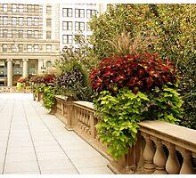 Chicago Sidewalk Photographic Print