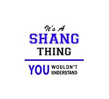 It's a SHANG thing, you wouldn't understand !! by thestarmaker