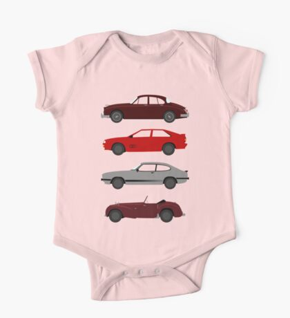 The Car's The Star: UK Detectives One Piece - Short Sleeve