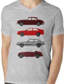 The Car's The Star: UK Detectives Mens V-Neck T-Shirt