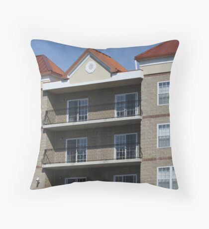 The Apartments Throw Pillow