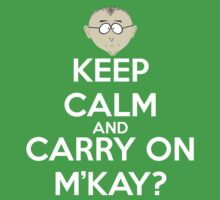 Mr. Mackey m'kay? by andraskiss