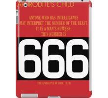 Aphrodite's Child - 666 iPad Case/Skin