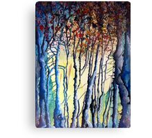Trees tell a story Canvas Print