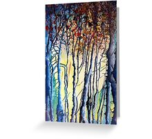 Trees tell a story Greeting Card