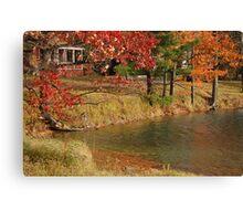 Rural Pond Canvas Print