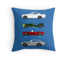 The Car's The Star: Spies Throw Pillow