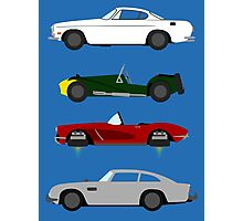 The Car's The Star: Spies Photographic Print