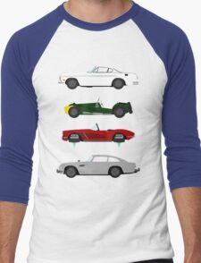 The Car's The Star: Spies Men's Baseball ¾ T-Shirt
