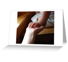 Hands.  Greeting Card