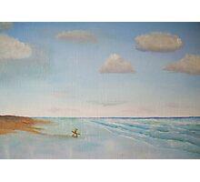 Beach Scene Photographic Print