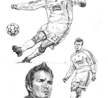 David Beckham by Alleycatsgarden