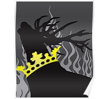 Game of Thrones Baratheon Silver Crowned Stag Poster