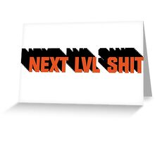 Next Level Shit Game Pc Xbox PS Gamer Gift T-Shirts Greeting Card
