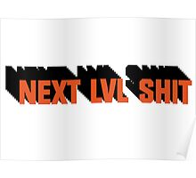 Next Level Shit Game Pc Xbox PS Gamer Gift T-Shirts Poster