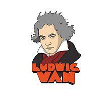 The Old Ludwig Van Photographic Print