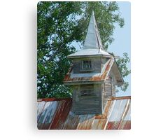 Old Steeples Die Hard Metal Print