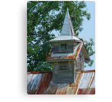 Old Steeples Die Hard Canvas Print
