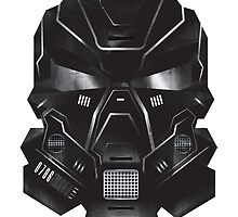 Black Metal Future Fighter Sci-fi Concept Art by VECTORDOWNPOUR