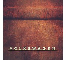 Volkswagen Rust Photographic Print