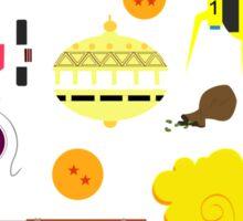 Dragon Ball Icons Sticker