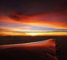 bangkok sunset by Courtney Goddard