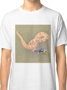 Shield Nose Snake - All Tied Up Classic T-Shirt