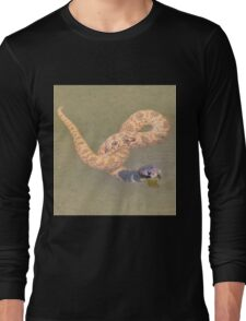 Shield Nose Snake - All Tied Up Long Sleeve T-Shirt