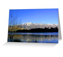 queenstown, new zealand Greeting Card