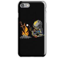 on an open bonfire iPhone Case/Skin