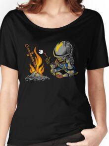 on an open bonfire Women's Relaxed Fit T-Shirt