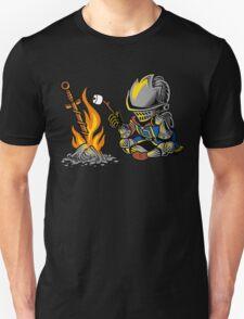 on an open bonfire T-Shirt
