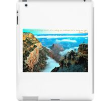 Voyage Travel Quote Collection  iPad Case/Skin