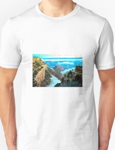 Voyage Travel Quote Collection  Unisex T-Shirt