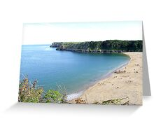 Barrafundel Bay, Pembrokeshire Greeting Card