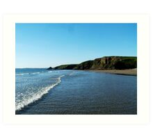 Whitesands Bay, Pembrokeshire Art Print