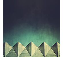 Urban Geometric Landscape Skyline Photographic Print