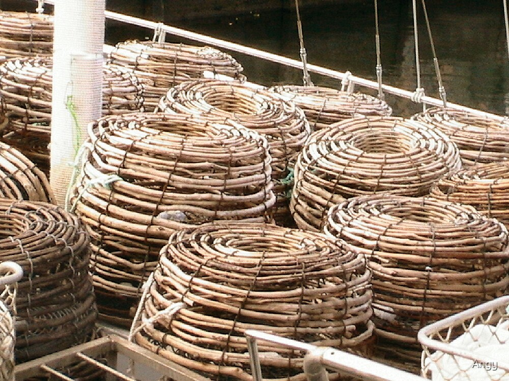 Lobster Pots by Angy