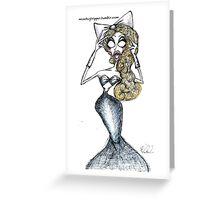 Fishy Milk Greeting Card