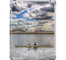 London City Airport Sculler iPad Case/Skin