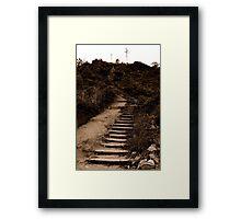 Stair Framed Print